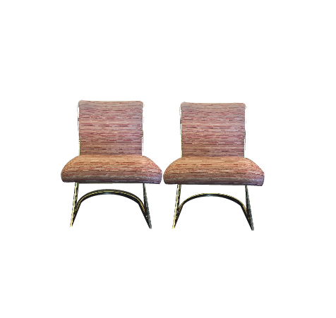 Brass Upholstery Chairs