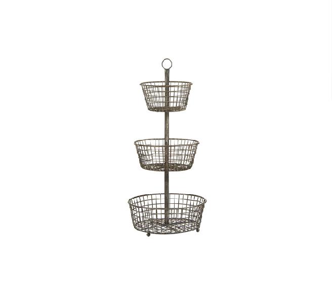 3 Tier Wire Baskets