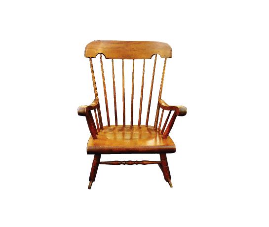Vintage Maplewood Rocking Chair