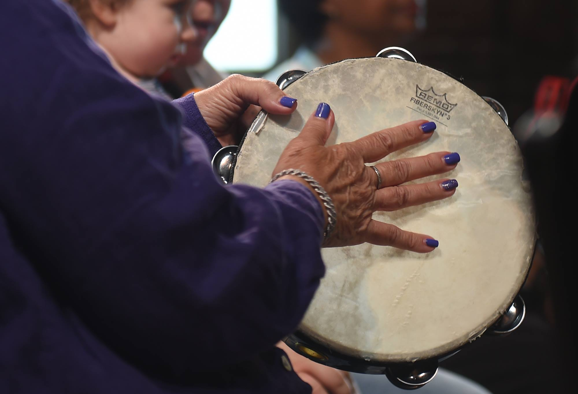 - Clients and families had fun drumming with each other at the Memory Cafe of the Penn Memory Center.