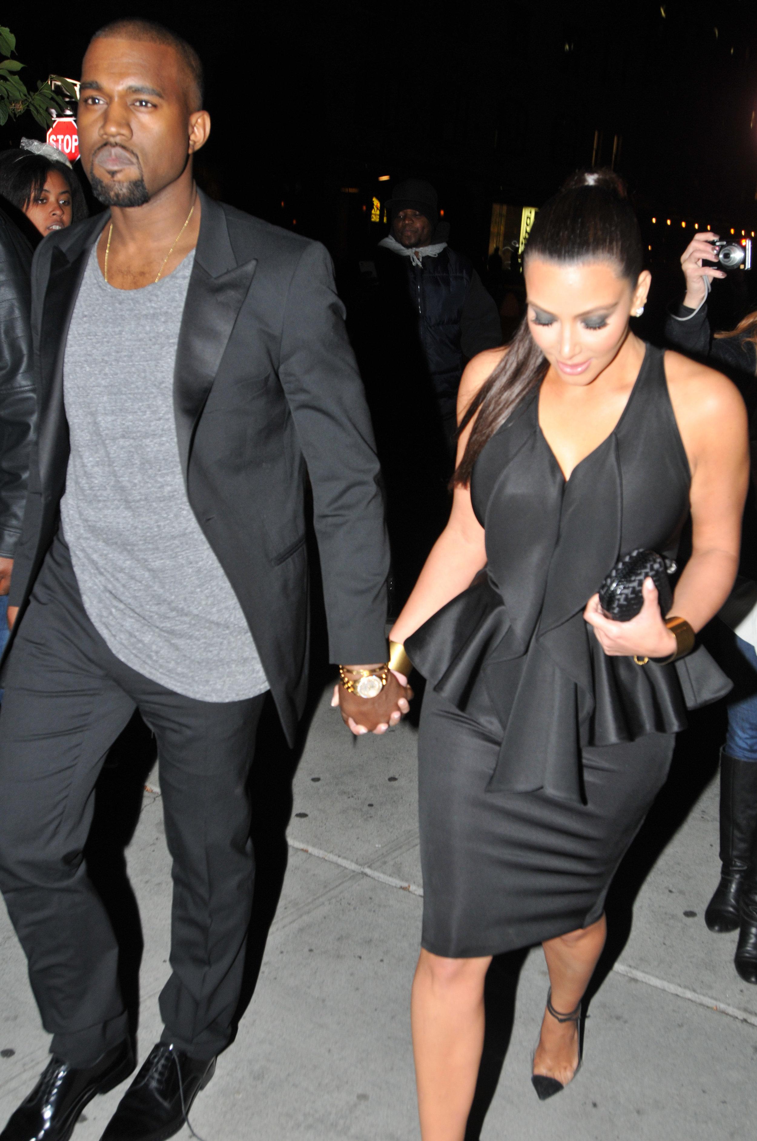 Kim and Kayne, 2012
