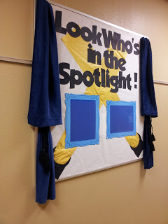 Mrs. Q's Music Blog has a great post that displays bulletin board examples for celebrating success!