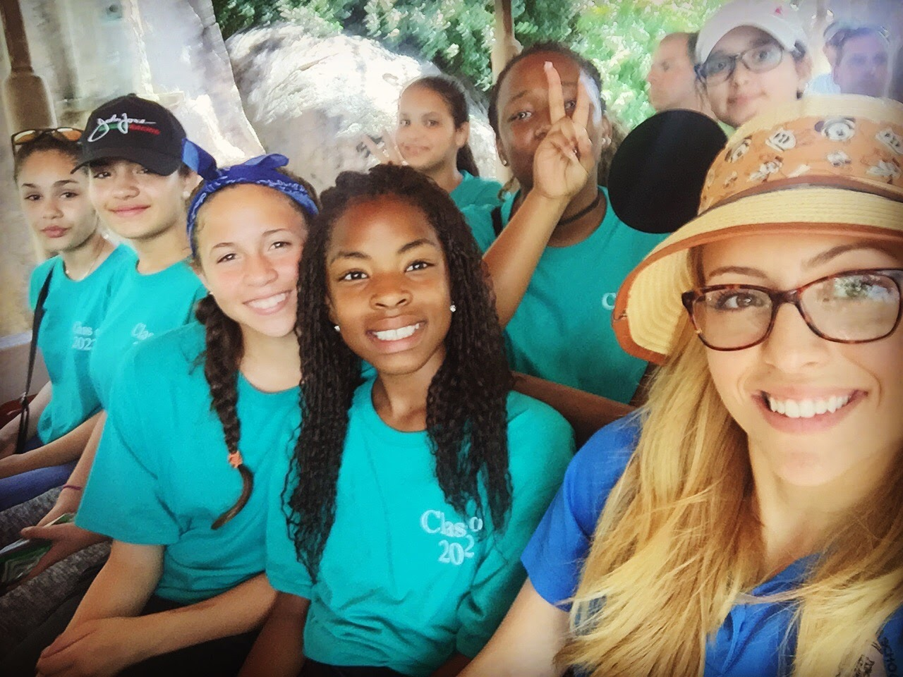 My group and I on the safari ride!
