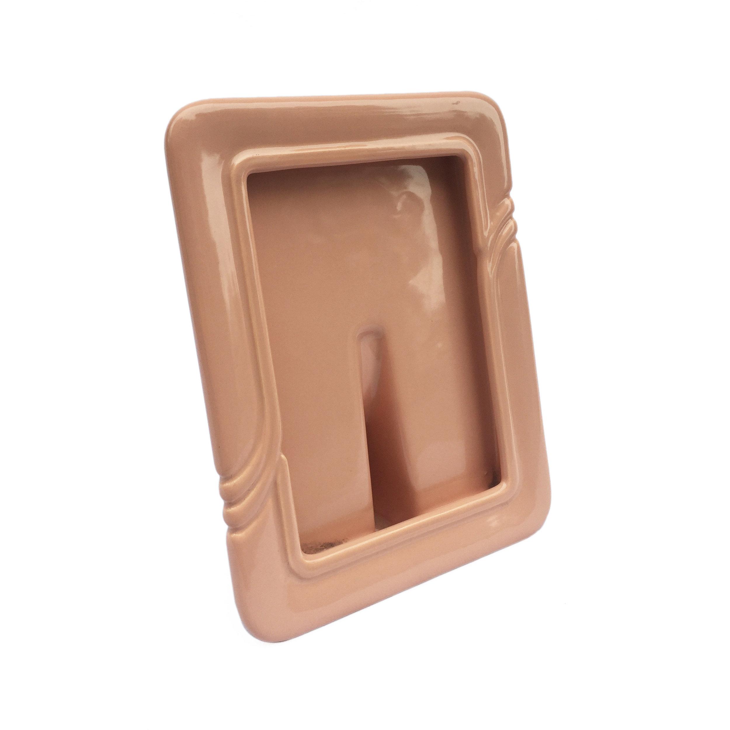 Ceramic 1980s Photograph Frame