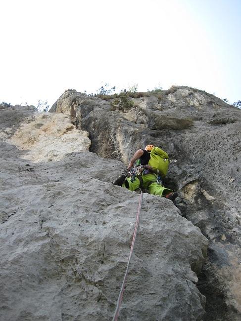 Klettern am Gardasee
