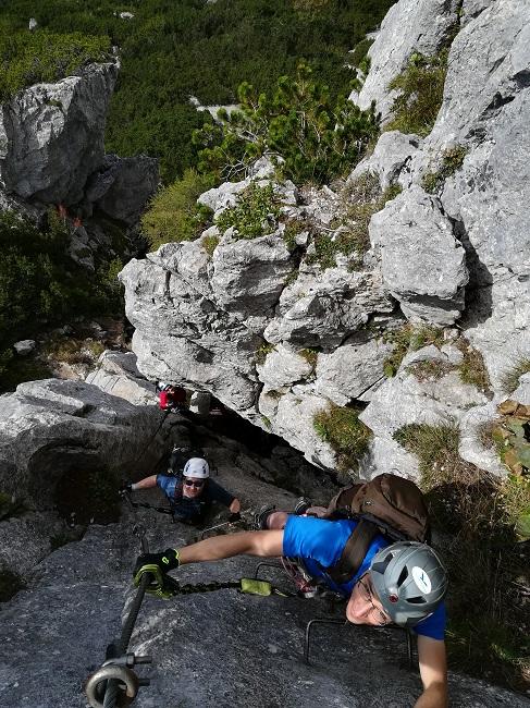 Klettersteig Waidringer Steinplatte
