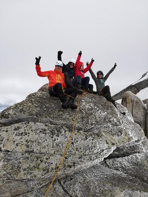 Kletterkurs am Gletscher