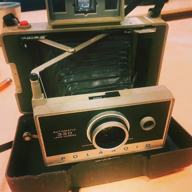 My Polaroid Land Camera - 330 model.