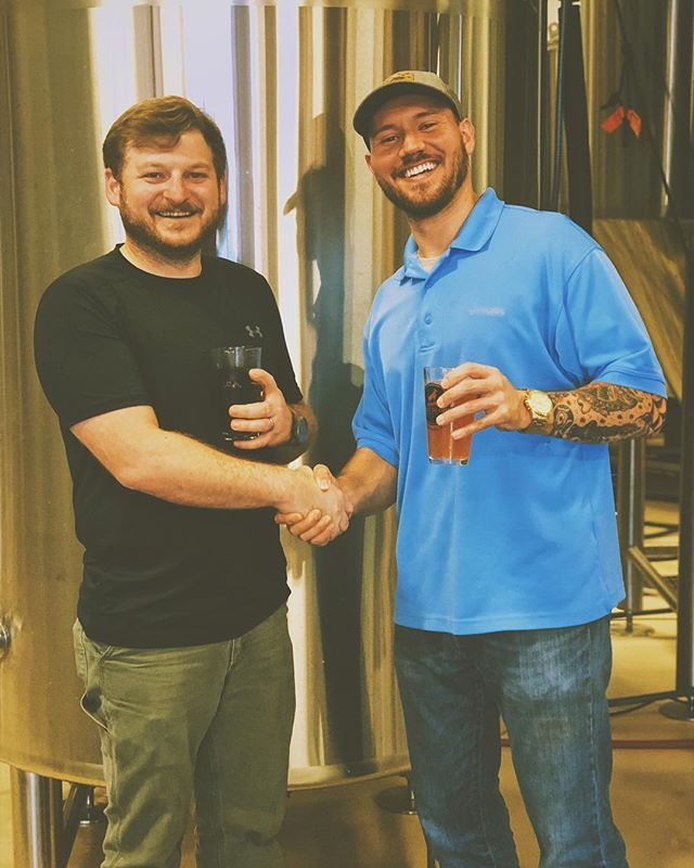 We are so happy to welcome Trey Jordan (@newsouthalumni ) to our Goat Island Brewing family! He will be heading our marketing and social media endeavors. We are so excited to grow our brand and cannot wait to share what's to come next ! @paulcwhite86 is brewing up some great new products for our fans and the sky is the limit 🤘🏻 #nobadbeer #goatislandbrewing