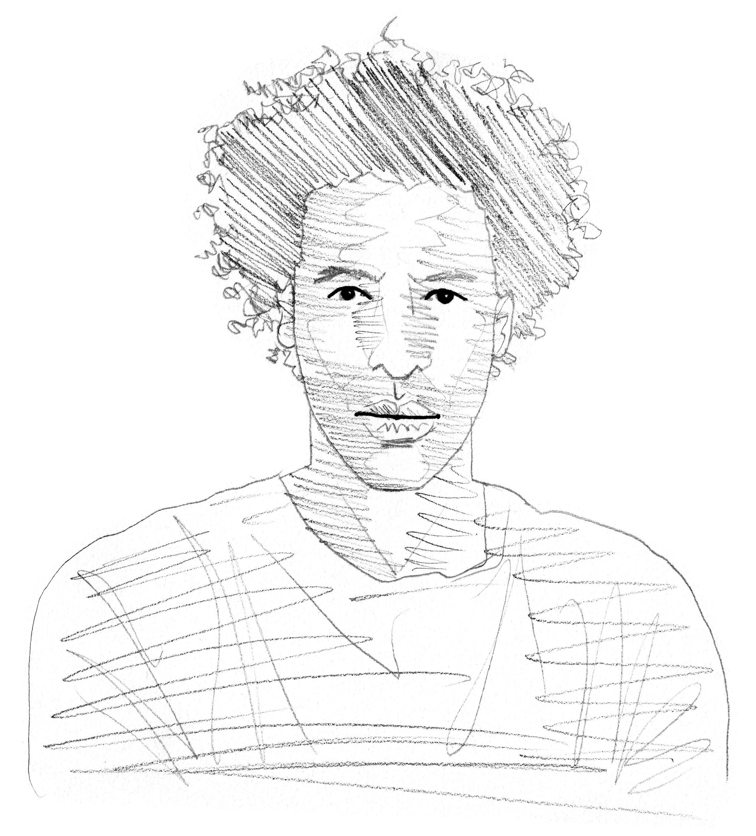Drawing by Brian Elstak