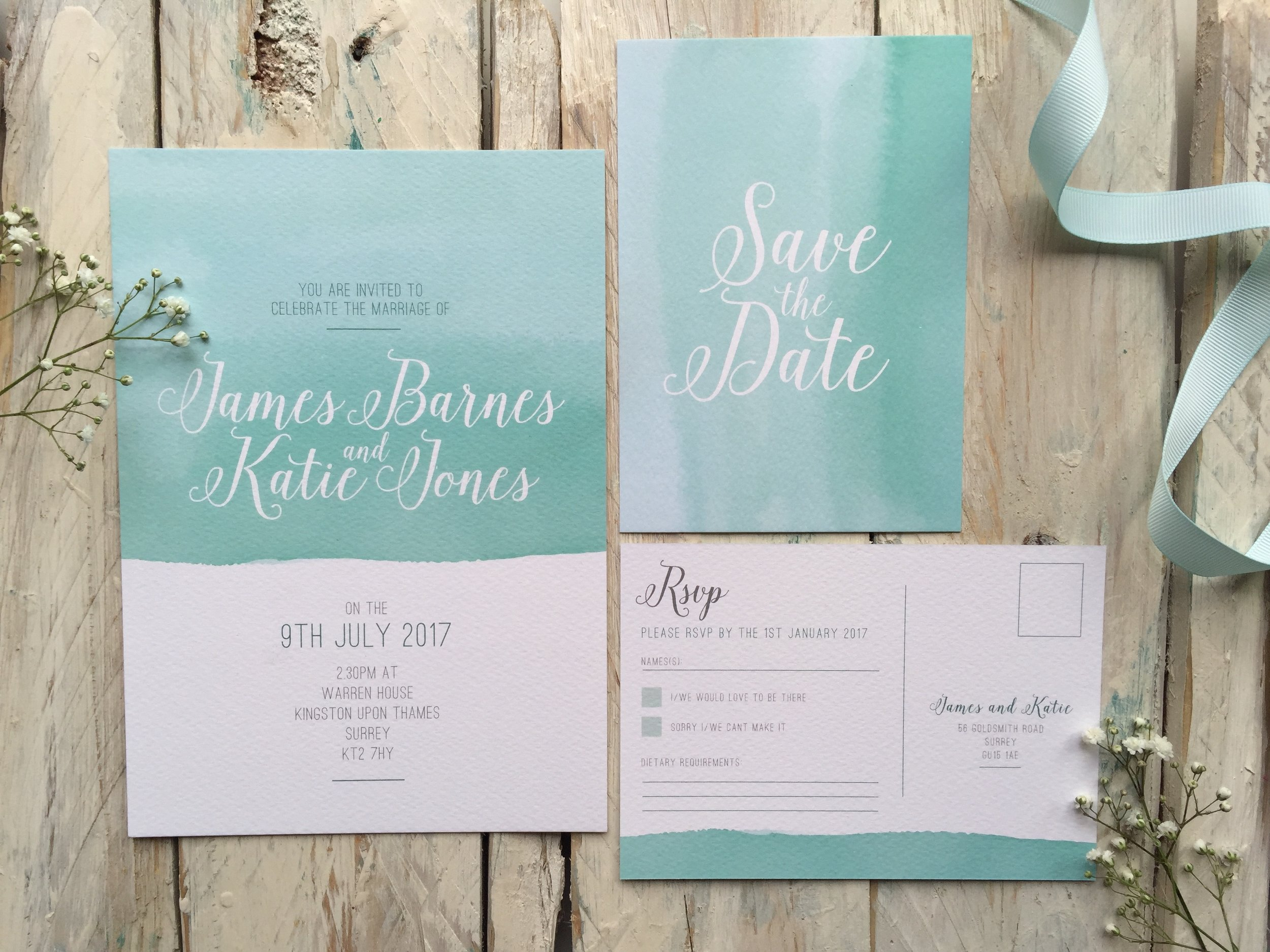 Invitation suite