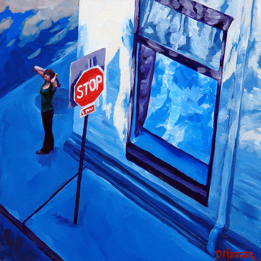 """""""Stop In Asheville"""" - Sold"""