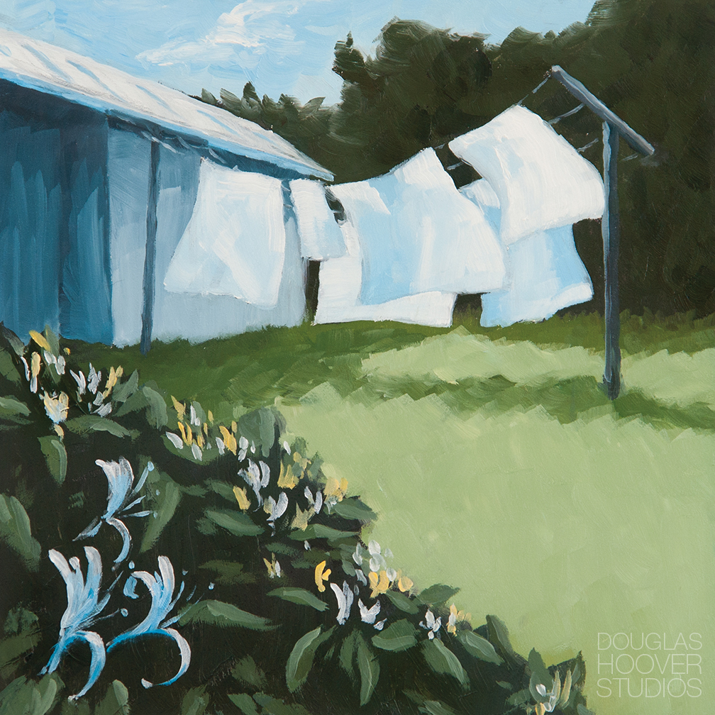 Scent Of The South | 6x6in. - SOLD