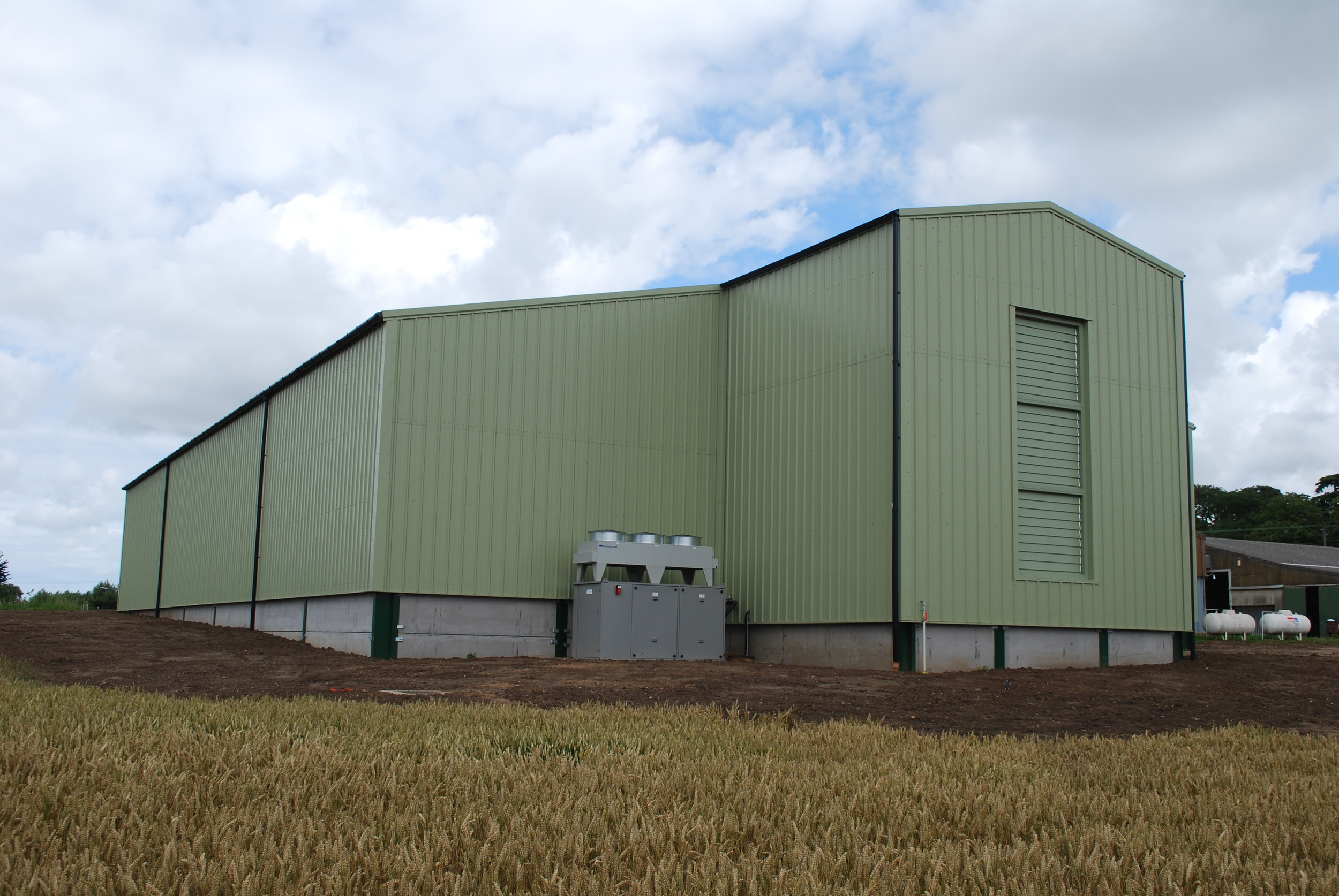 2000ton Refrigerated Bulk Onion Store