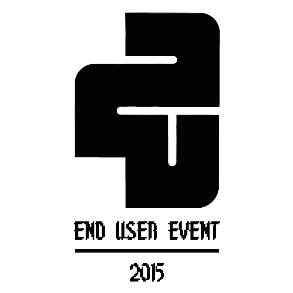 End User Event logo