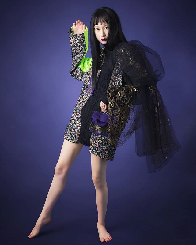 Designer : @chabo092 Model : @mao.ksk Makeup : @m.knn890 Hairstyle : @373_makino Photographer : @accent.fukuoka