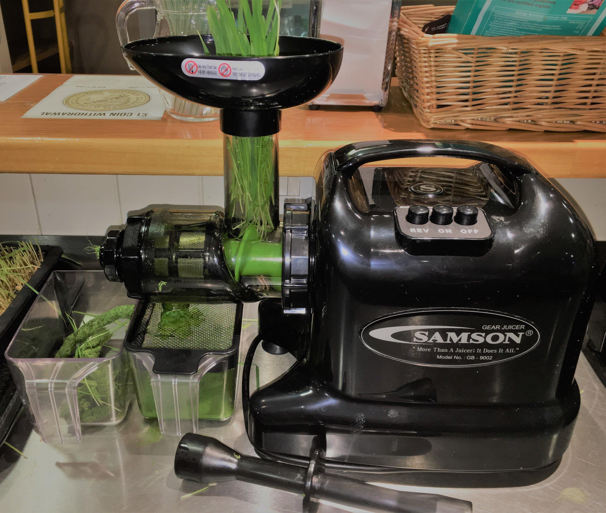 Samson Wheatgrass Juicer