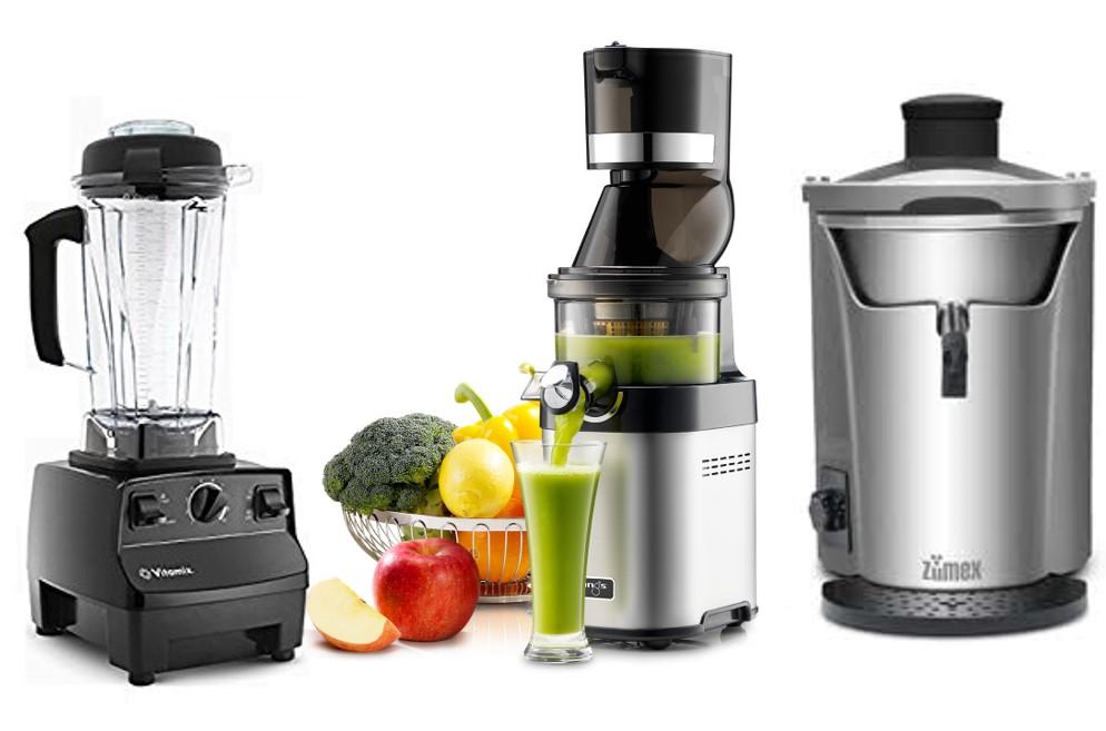 Blender, Whole Fruit Slow Juicer & Centrifugal Juicer