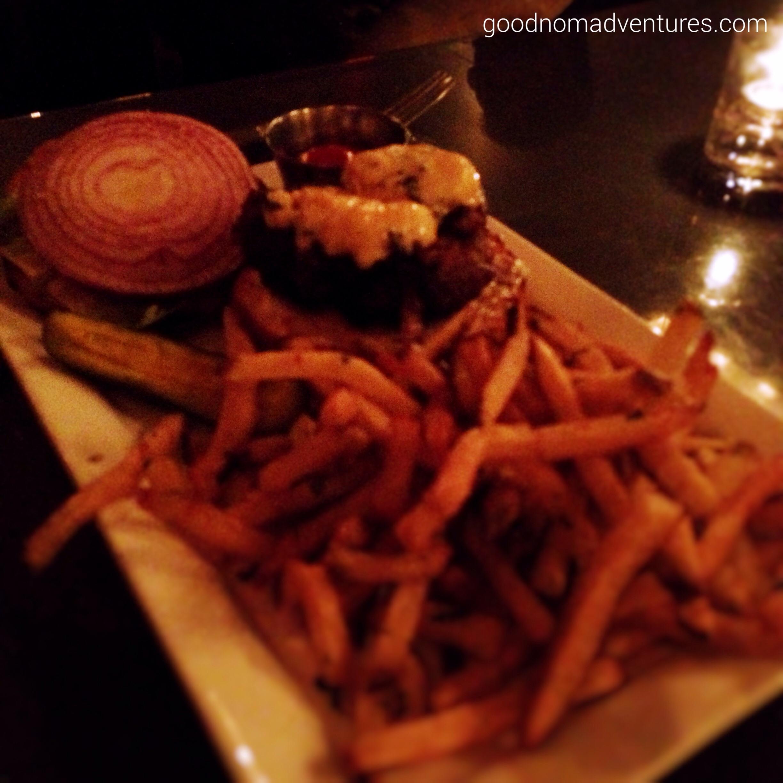 Burger with marrownaise