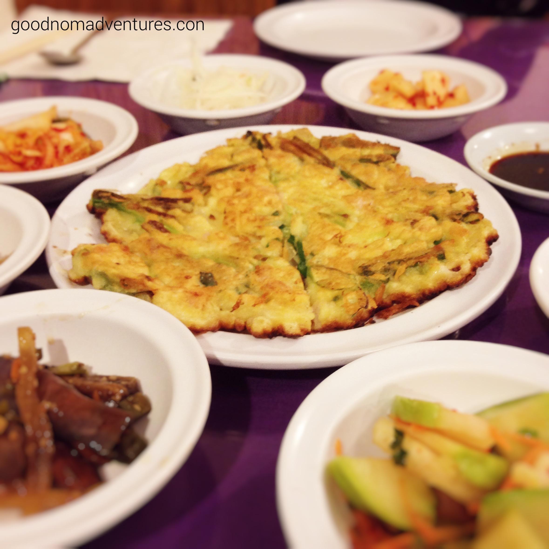Seafood pancake -haemul pajun