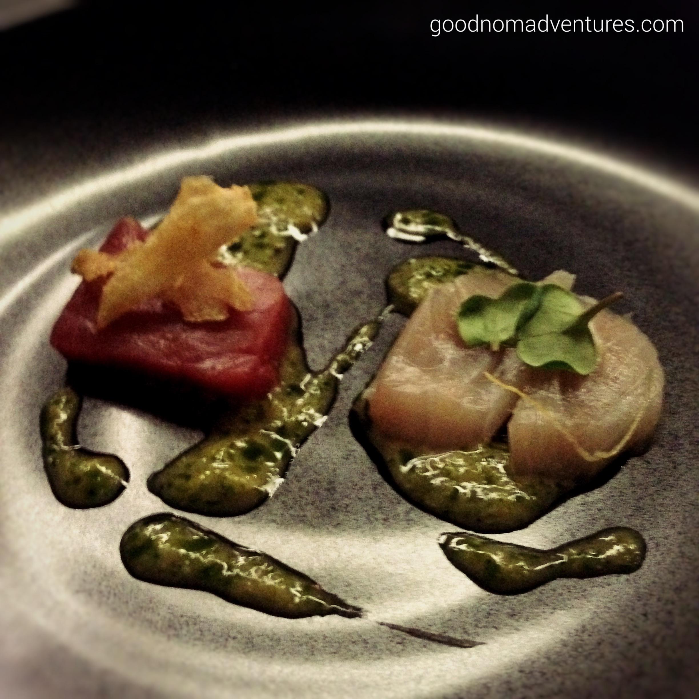 Tuna & Hamachi