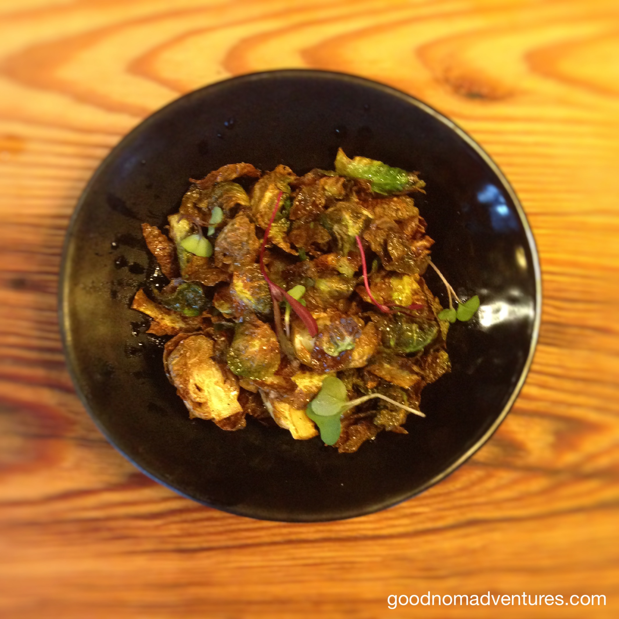"Crispy ""Tiger"" Sprouts"
