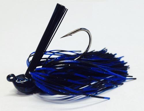 Lot of 3 PRECISION TUNGSTEN 3//8oz TUNGSTEN FOOTBALL HEAD Jigs in Black color
