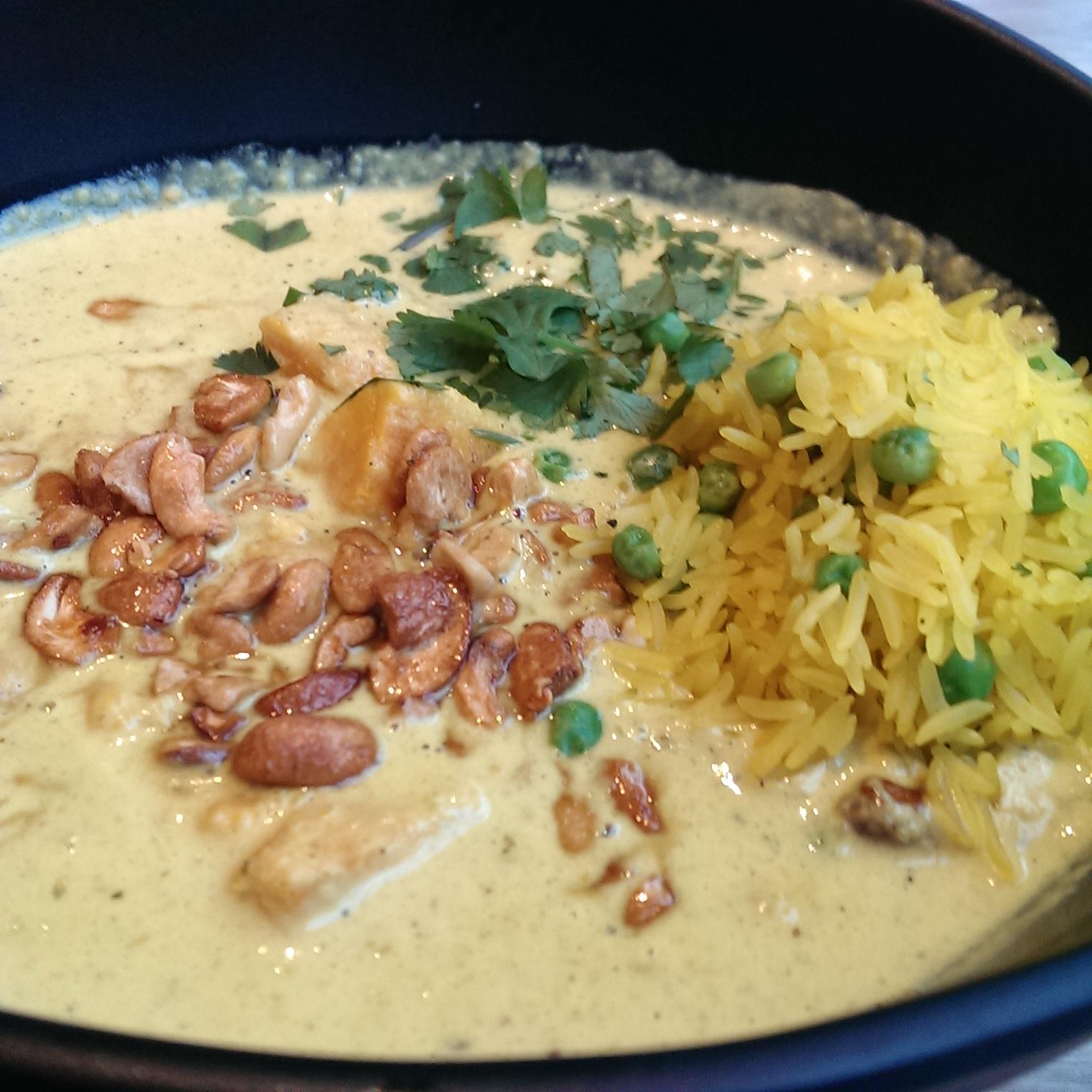 Sri Lanken sweet potato and cashew nut curry. Mildred's Restaurant, Camden