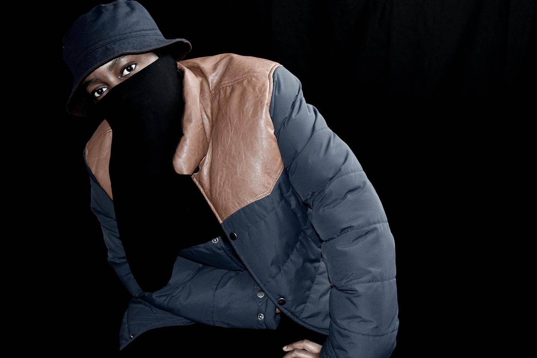 Bucket hat and Niqab