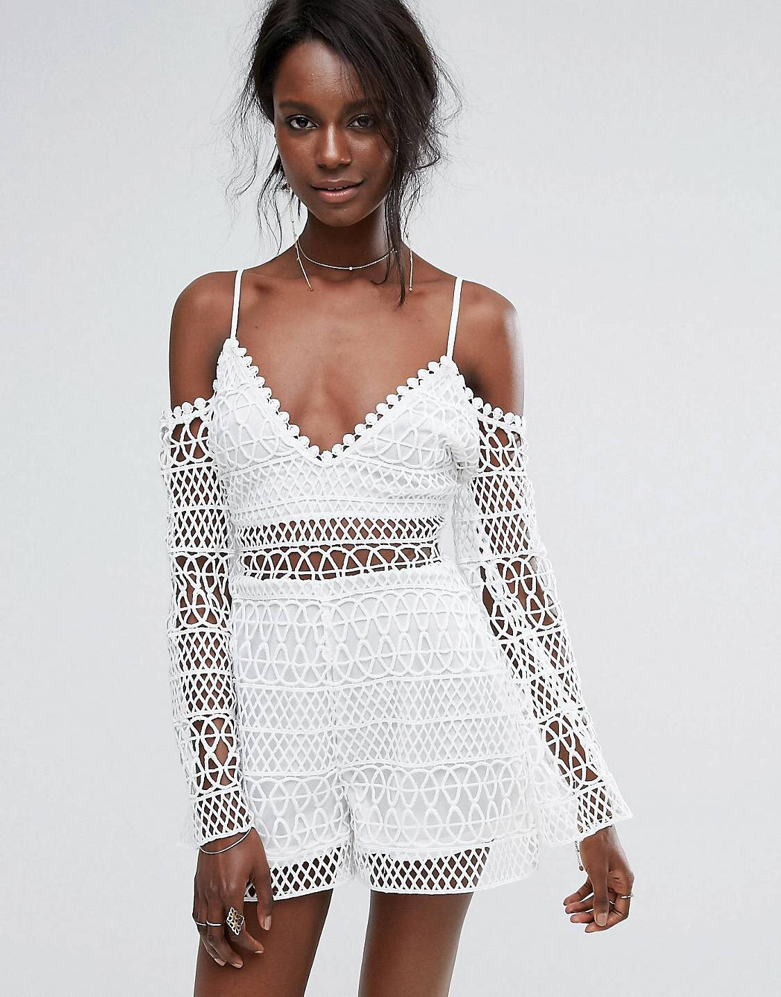 Crotchet somtin - - It's a new day and I'm sort of preferring it with the lining. However If i were to remove the lining, it'd be replaced with a nude colour body suit.