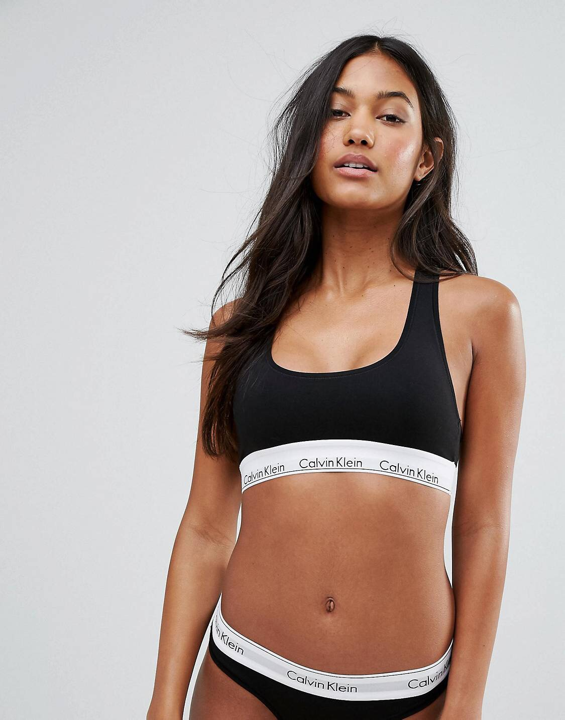 Thot must have number 2, bralette. - Get you a cute black number to start with, something plain. This CK one is perfect entry level, but for the more experienced can also go for lace, or frills. There's a nice range.