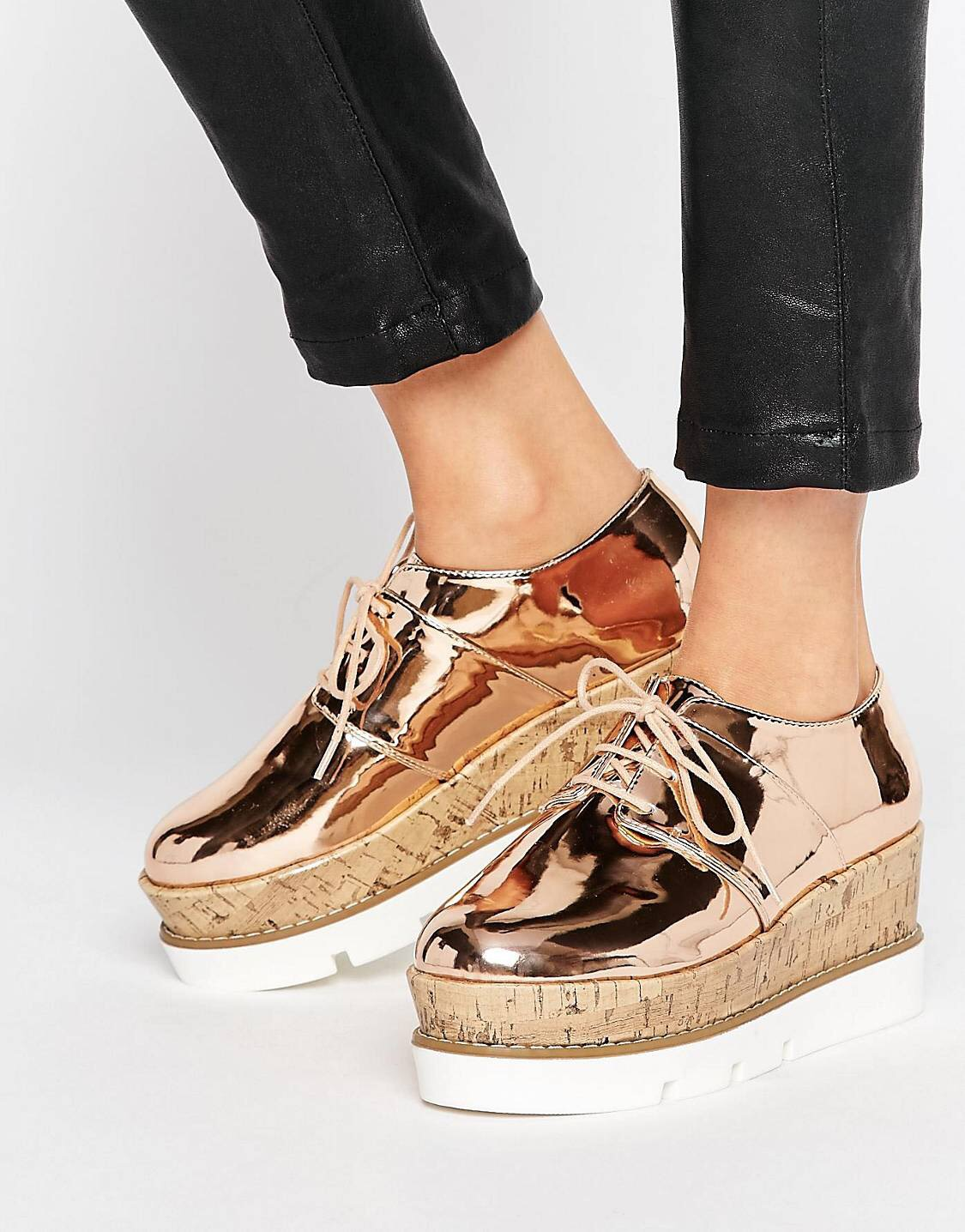 £22.50 - clearly metallic platform shoes are calling me.
