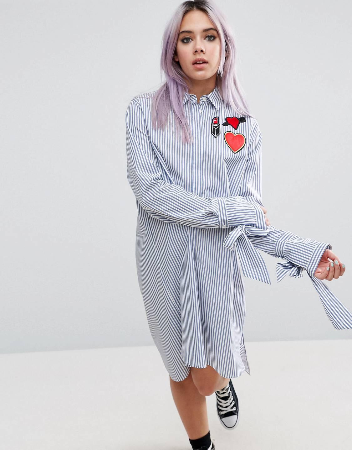 £19 ASOS Shirt Dress - Knee length shirt. I'm sold.