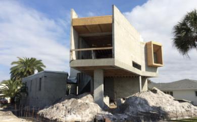 Construction Progress of Venice Beach Residence