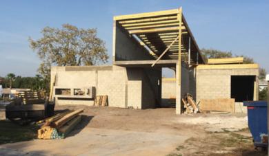 Progress of Philippi Creek Residence