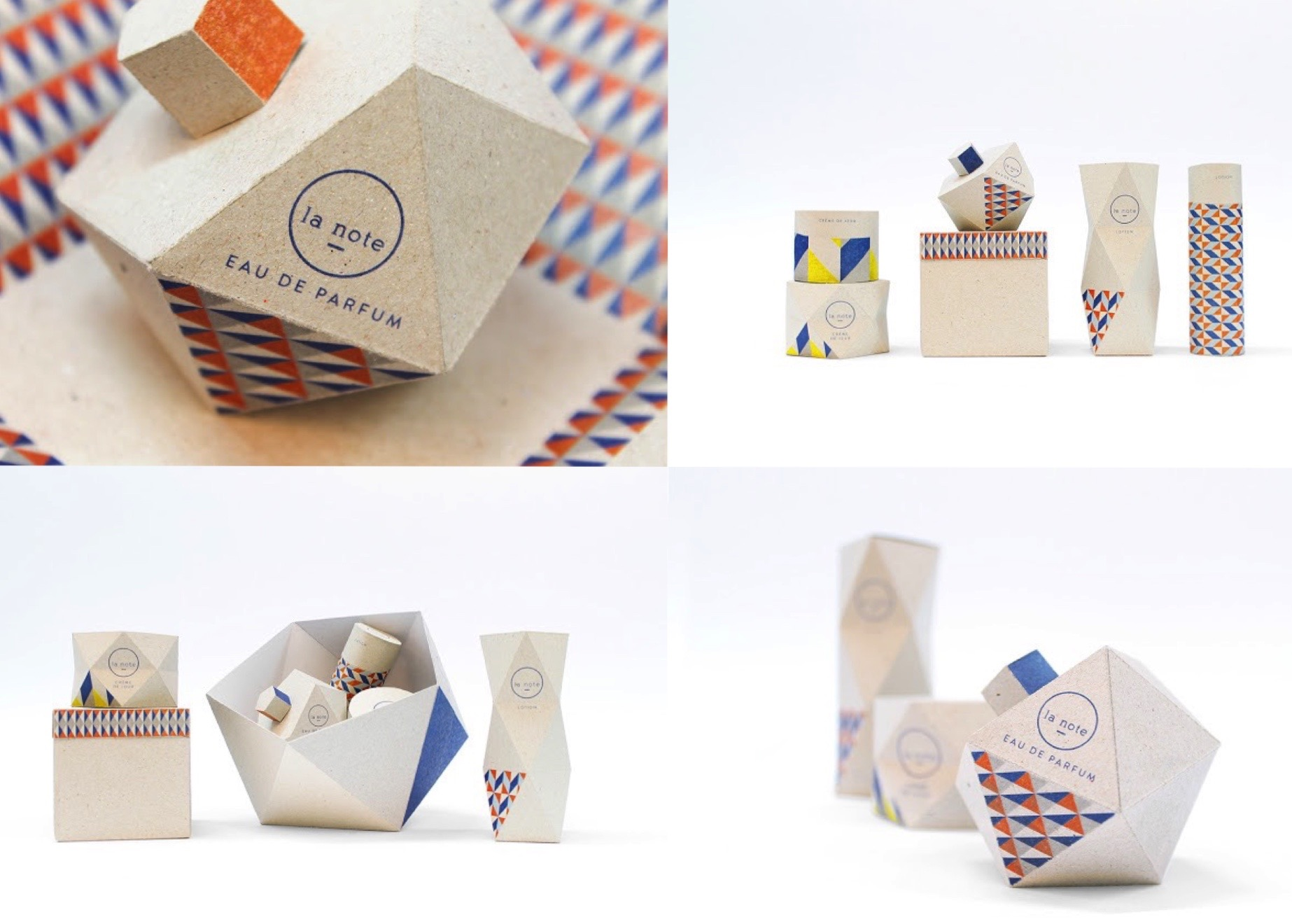 Paper Tigre cosmetic packaging