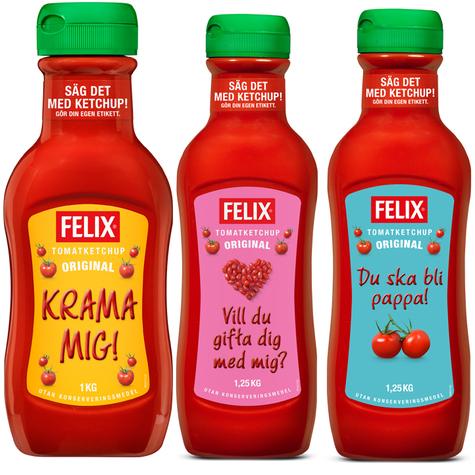 Felix Ketchup flaska