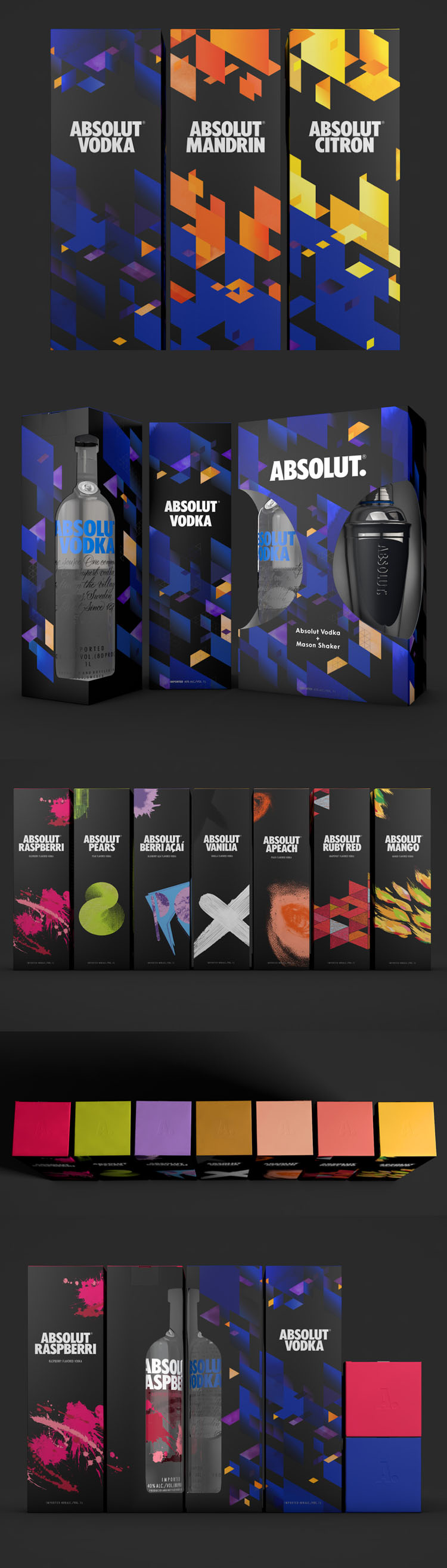 Absolut Giftpacks by Amore