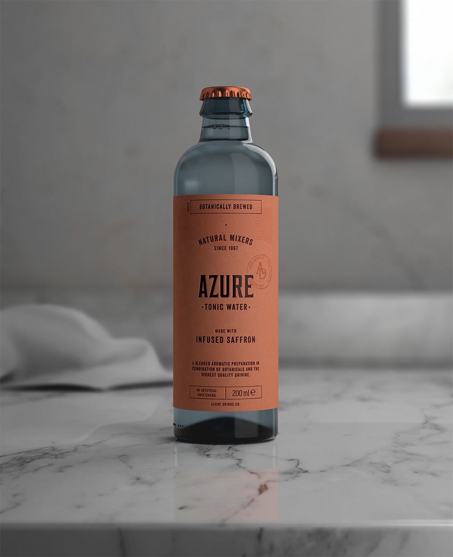 Packaging design Tonic Water by Pep Bernat Vizcaya at FÖRPACKAD