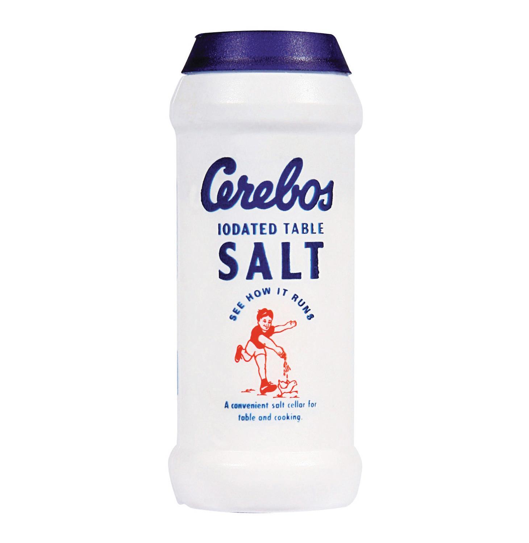 cerebos salt at förpackad