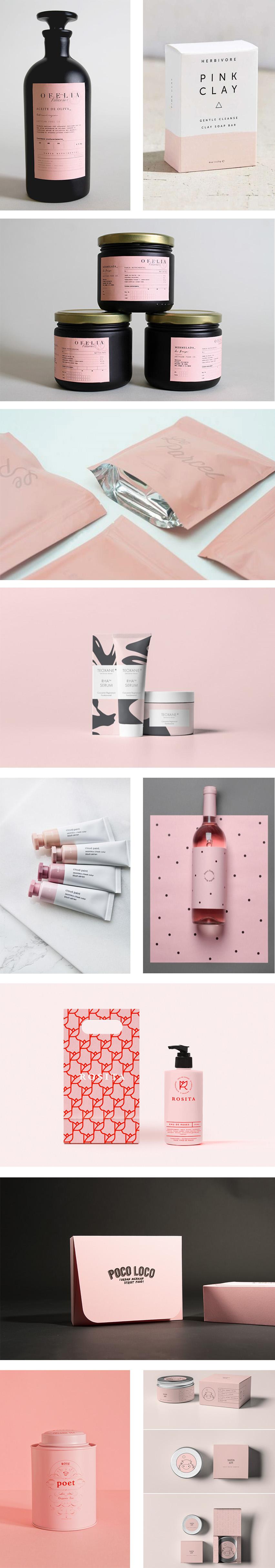 pink packaging @förpackad förpackningsdesign