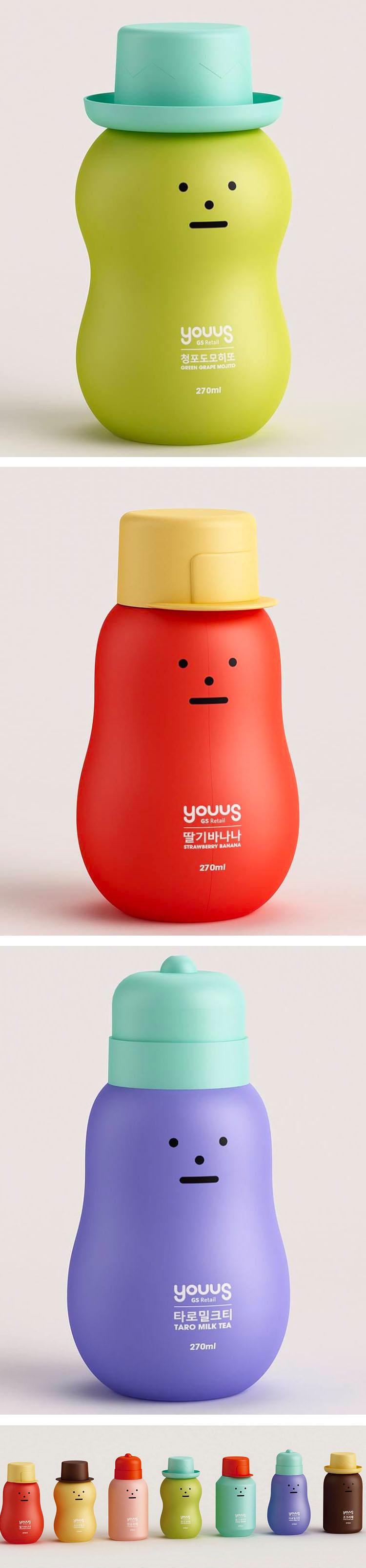 Sticky Monster bottles packaging design @forpackad
