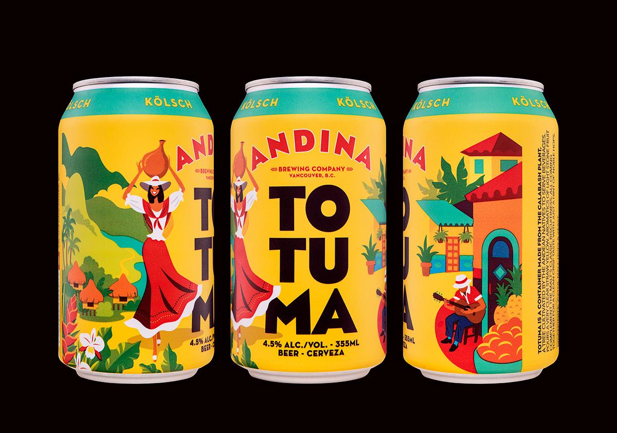 Andina, Colombianskt öl. Läs mer  här