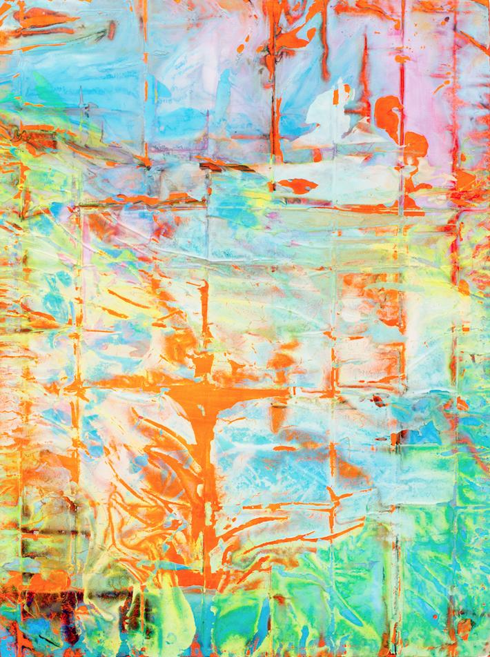 "(image: Jasmine Hsu, Crossing Series 1, 2018, acrylic on canvas, 36 x 48"")"