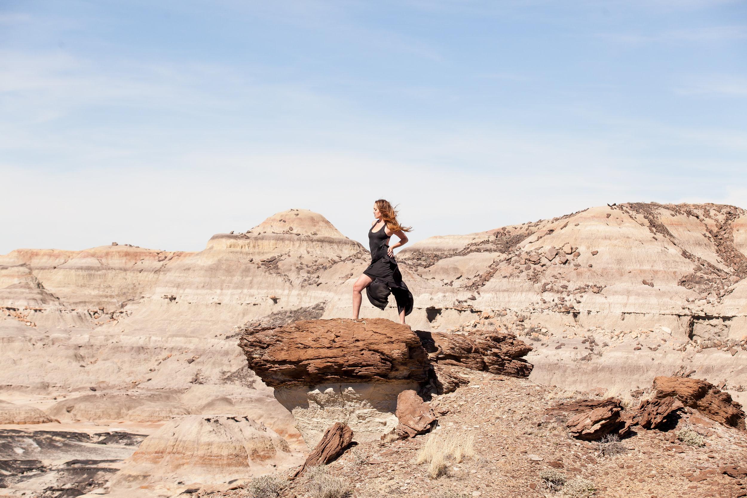 Bisti Badlands Boudoir By Durango Boudoir Photographers Alexi Hubbell Photography