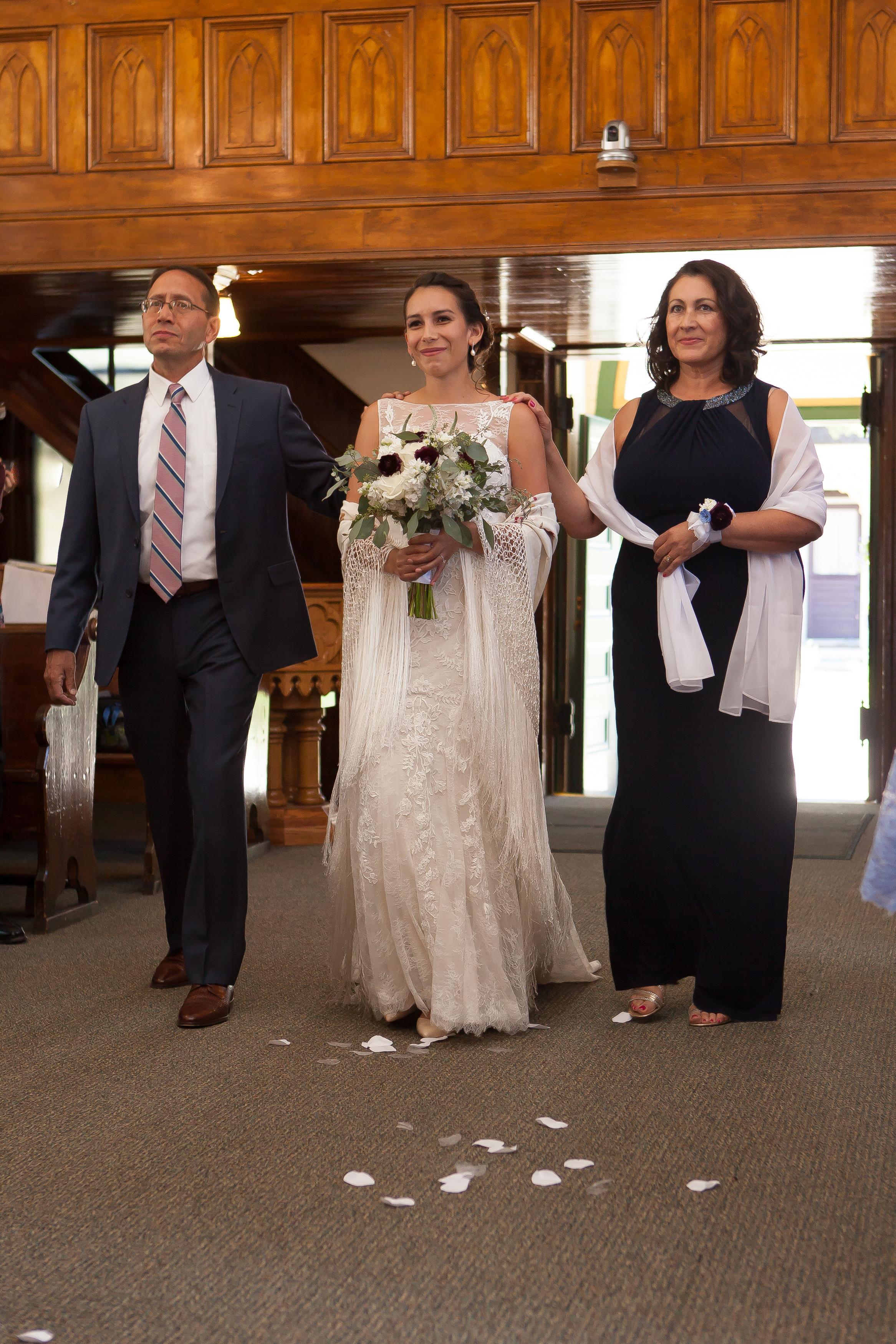 St. Patrick's Catholic Church, Telluride, Colorado and Durango Wedding Photographers Alexi Hubbell Photography