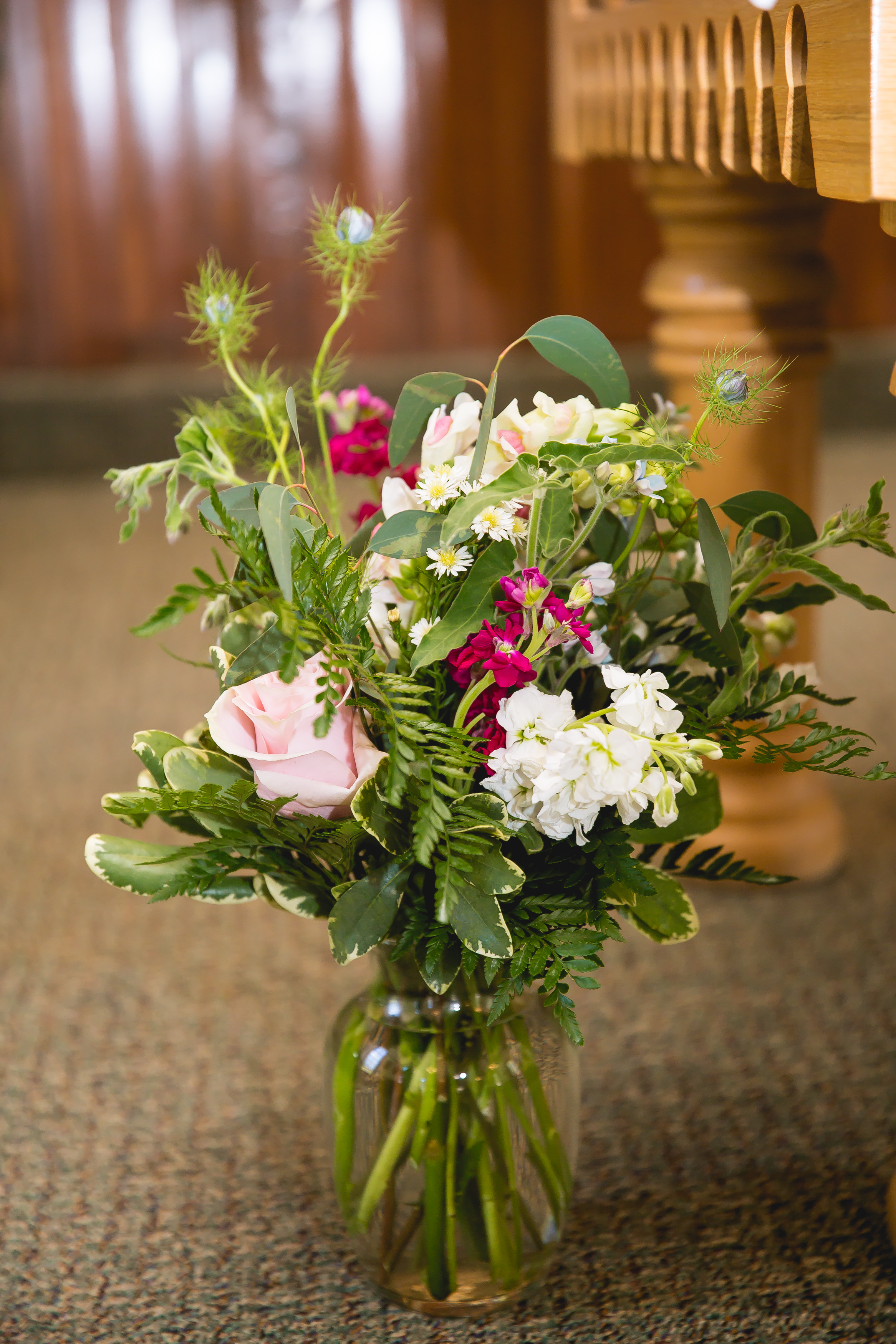 St. Patricks Catholic Church, Telluride and Durango Wedding Photographers Alexi Hubbell Photography Floral by Willowcreek Floral, Ridgeway, Colorado