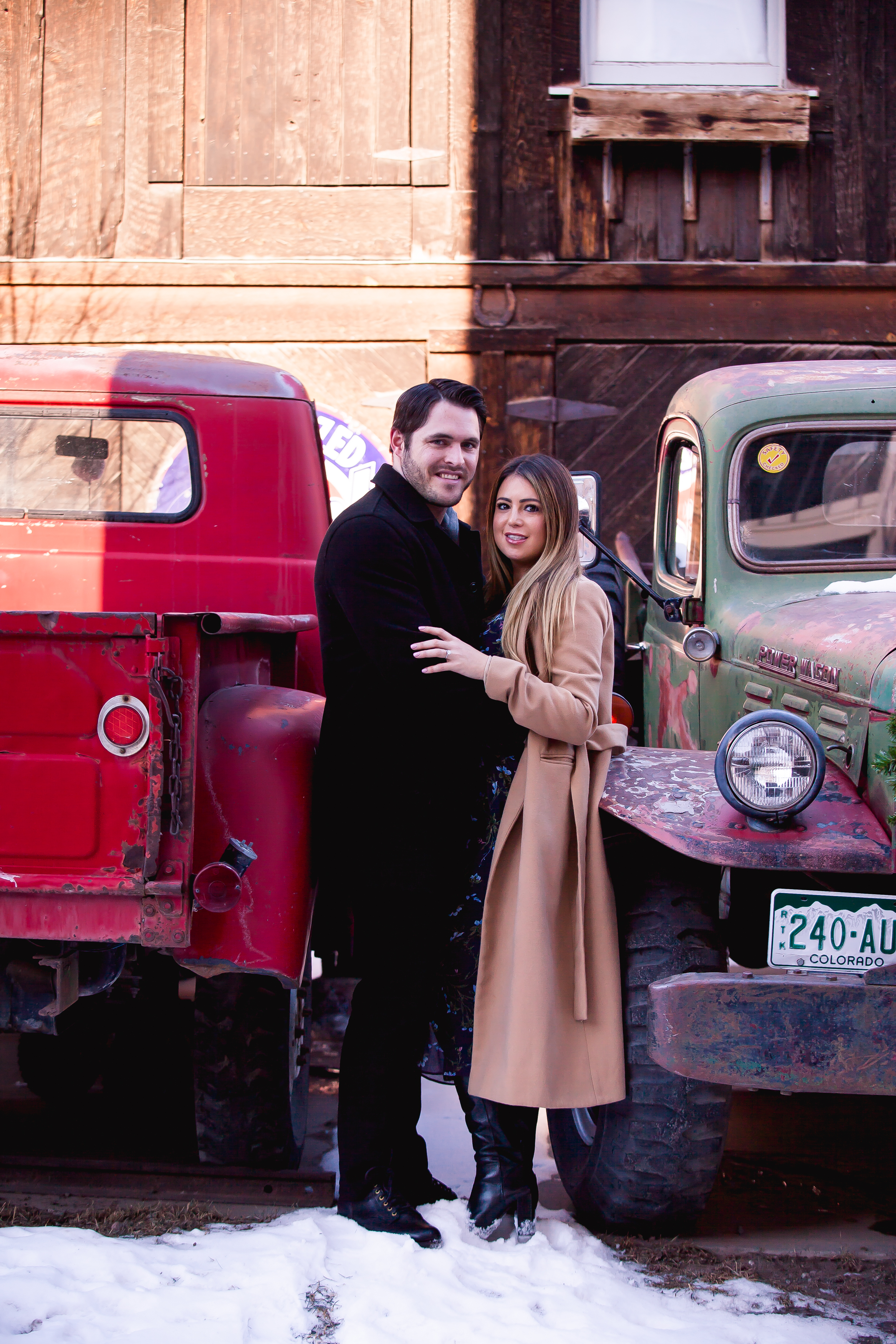 winter in telluride engagement photographer alexi hubbell photography