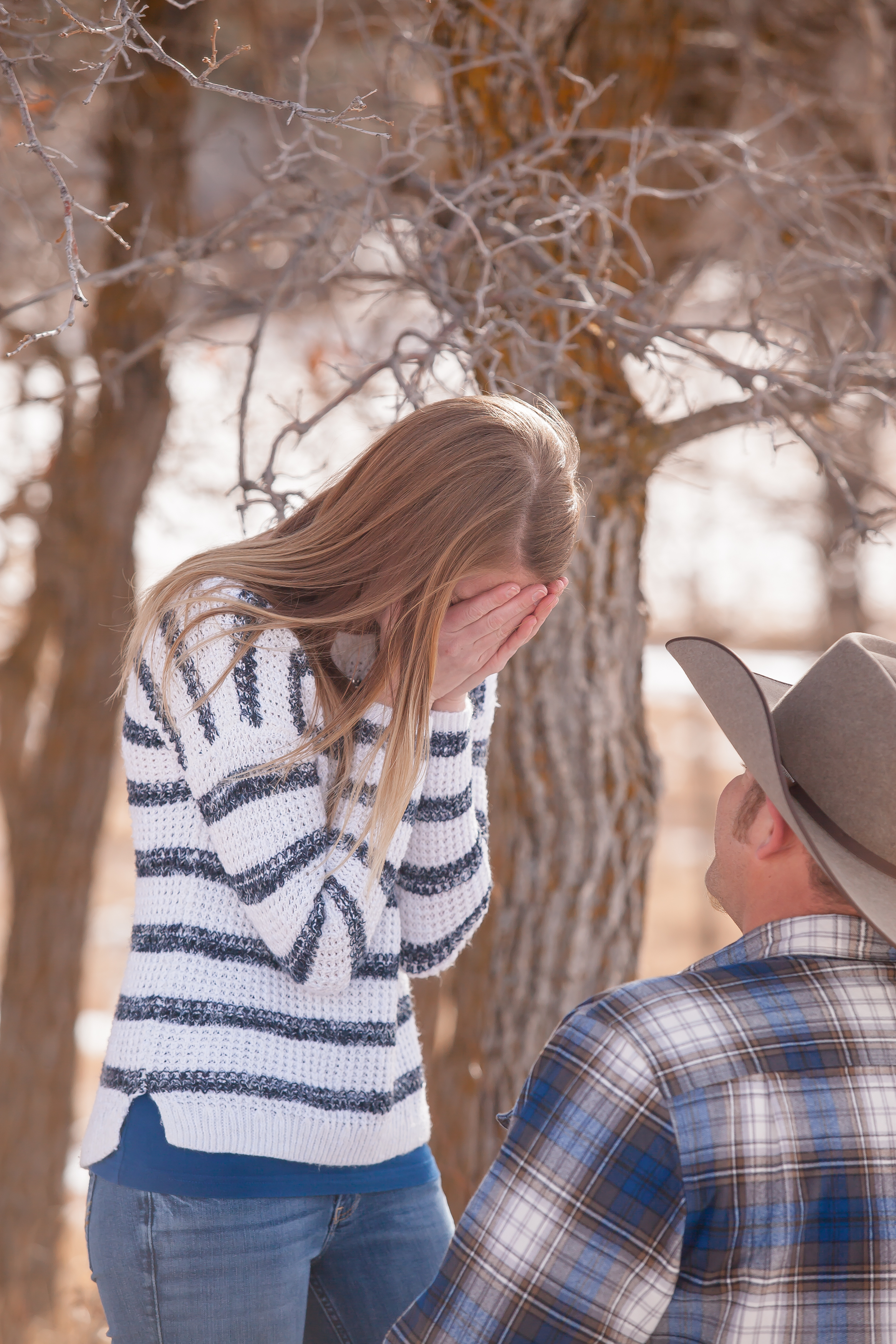 durango colorado proposal cowboy by alexi hubbell photography