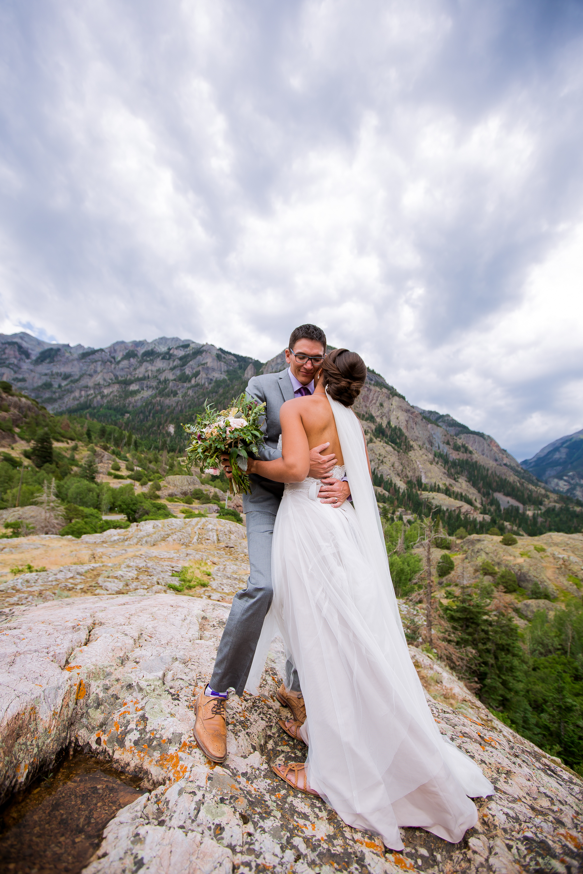 TELLURIDE, OURAY, RIDGWAY WEDDING TOP OF THE PINES SECRET GARDEN BED AND BREAKFAST